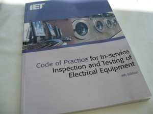 The IET Code of Practise for PAT Testing